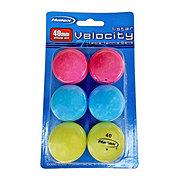 Halex Multi Color Table Tennis Balls 6 CT
