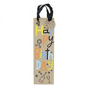 Hallmark Bottle Gift Bag Happy Birthday
