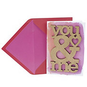 Hallmark Laser-cut Wood You and Me Signature Valentine's Day Greeting Card #1