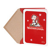 Hallmark Linus, Snoopy, and Woodstock Blessings Peanuts Valentine's Day Card #2