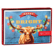 Hallmark Merry & Bright Christmas Card