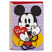 Hallmark Removable Displayable Mickey Mouse Valentine's Day Card #10