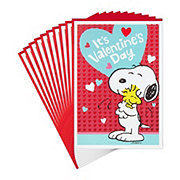 Hallmark Snoopy and Woodstock Pack of Peanuts Valentine's Day Cards #16