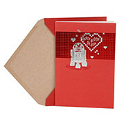 Hallmark Star Wars R2-D2 and Hearts Valentine's Day Card #5