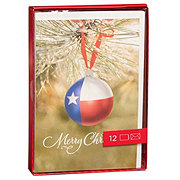 Hallmark Texas Ornament Christmas Card