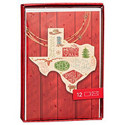 Hallmark Texas Road Map Card Box