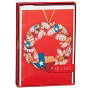 Hallmark Texas Wreath Card Box