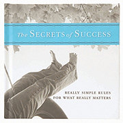 Hallmark The Secrets of Success: Really Simple Rules Gift Book
