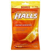 Halls Cough Drops Honey, 40 CT