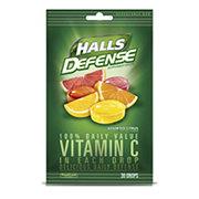 Halls Defense Sugar Free Vitamin C Cough Drops