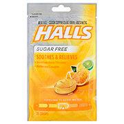 halls sugar free citrus blend triple soothing action cough suppressant shop cough drop. Black Bedroom Furniture Sets. Home Design Ideas