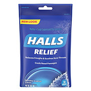 Halls Triple Soothing Action Cough Suppressant, Mentho-Lyptus