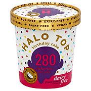 Halo Top Birthday Cake Dairy Free Ice Cream