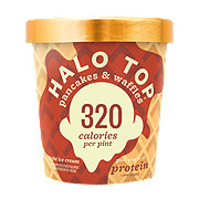 Halo Top Pancakes & Waffles Ice Cream