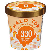 Halo Top Peaches & Cream Ice Cream