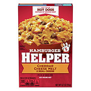 Hamburger Helper Cheddar Cheese Melt