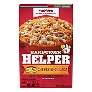 Hamburger Helper Cheesy Enchilada Rice and Sauce and Topping Mix