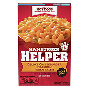 Hamburger Helper Deluxe Cheeseburger Macaroni