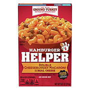 Hamburger Helper Double Cheeseburger Macaroni