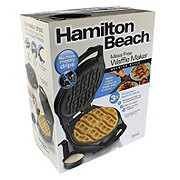 Hamilton Beach Mess Free Waffle Maker
