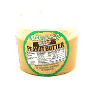 Hampton Farms Healthy Living Unsalted Organic Peanut Butter