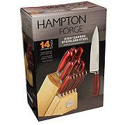 Hampton Forge Argentum Cutlery Block Set