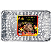Handi-Foil BBQ Basics Giant Pasta Pan With Lid