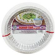 Handi-Foil Cook-n-Carry Pie Pans & Lids
