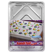 Handi-Foil Eco-Foil Cook-n-Carry Half Sheet Pan & Lid