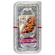 Handi-Foil Eco-Foil Loaf Pans with Lids