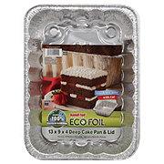 Handi-Foil Ultimates Cook-n-Carry Deep Cake Pan And Lid
