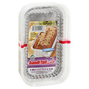 Handi-Foil Ultimates Cook-n-Carry Mini Loaf Pans & Lids