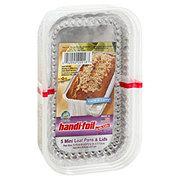 Handi-Foil Ultimates Cook-n-Carry Mini Loaf Pans & Lids