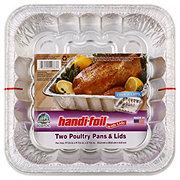 Handi-Foil Ultimates Cook-n-Carry Poultry Pans & Lids