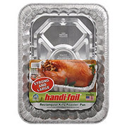 Handi-Foil Ultimates Eco-Foil Rectangular King Roaster Pan
