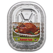 Handi-Foil Ultimates Oval King Roaster Pan