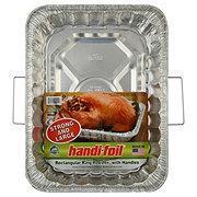 Handi-Foil Ultimates Rectangular King Roaster Pan With Handles