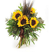 Handtied Sunflower Harvest Bouquet - Standard