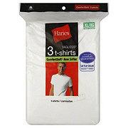 Hanes ComfortSoft Tagless White T-Shirts Extra Large