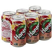 Hansen's Cherry Vanilla Soda 12 oz Cans