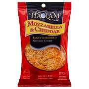 Haolam Mozzarella and Cheddar Fancy Shredded Cheese