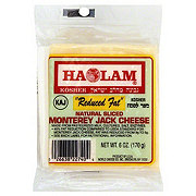 Haolam Natural Monterey Jack Reduced Fat Sliced Cheese