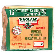 Haolam Pasteurized Process Yellow American Cheese