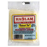 Haolam Reduced Fat Natural Muenster Sliced Cheese