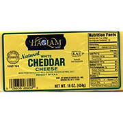 Haolam White Cheddar Cheese  Block