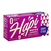 Hapi Water Grape D'vine Fortified Water, 8PK