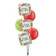 Happy Anniversary Half Dozen Balloon Bouquet