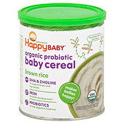 Happy Baby Bellies Organic Brown Rice Baby Cereal