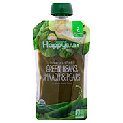 Happy Baby Organics Clearly Crafted Green Beans Spinach Pears