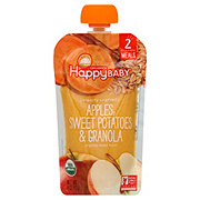 Happy Baby Organics Clearly Crafted Stage 2 Apple Sweet Potato & Granola